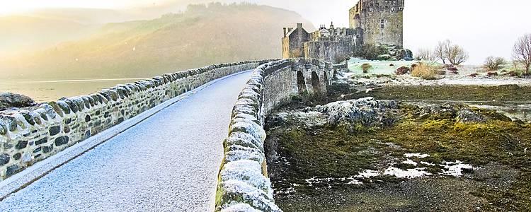 Découverte des Highlands, en hiver