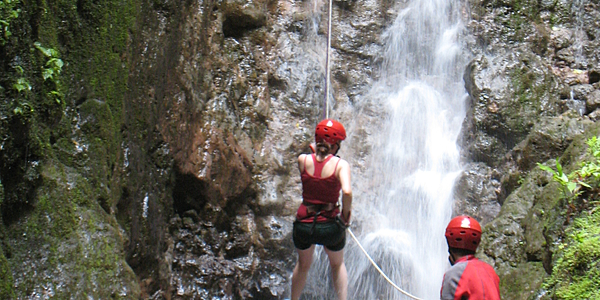 Canyoning Arenal Costa Rica