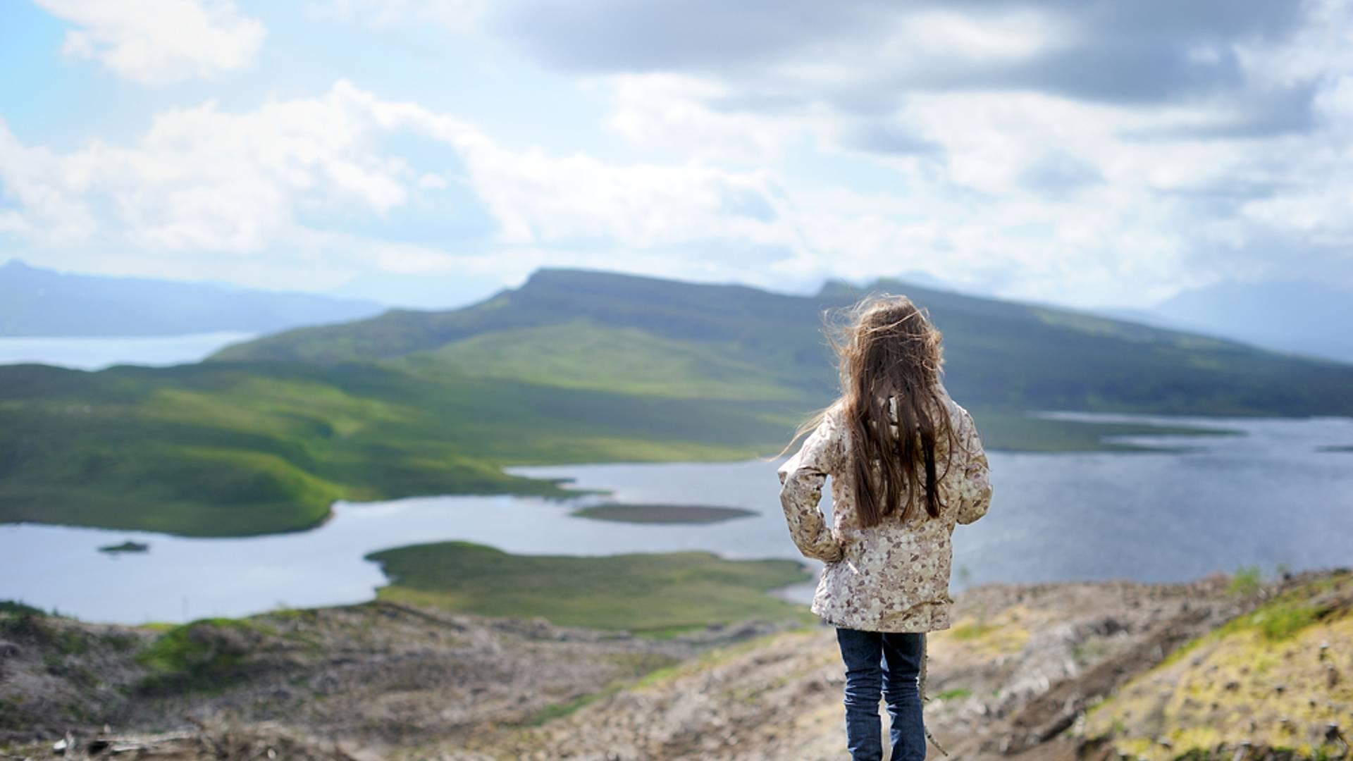 Les Highlands en famille