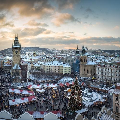 Les marchés de Noël à Prague - Prague -