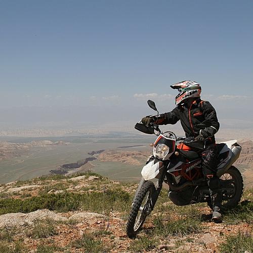 Circuit en moto dans le Tian Shan - Bichkek -