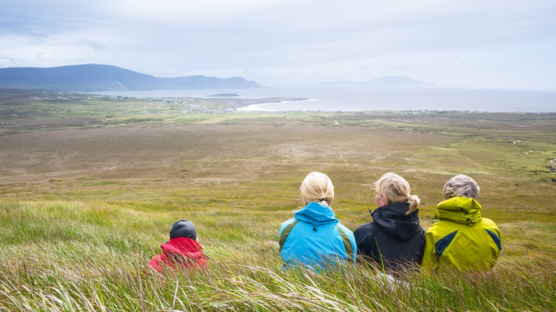 L'Irlande sauvage en famille
