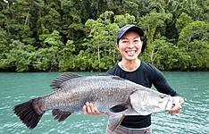 Expérience de pêche dans le Pacifique Sud