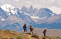 Trekking dans le parc de Torres del Paine