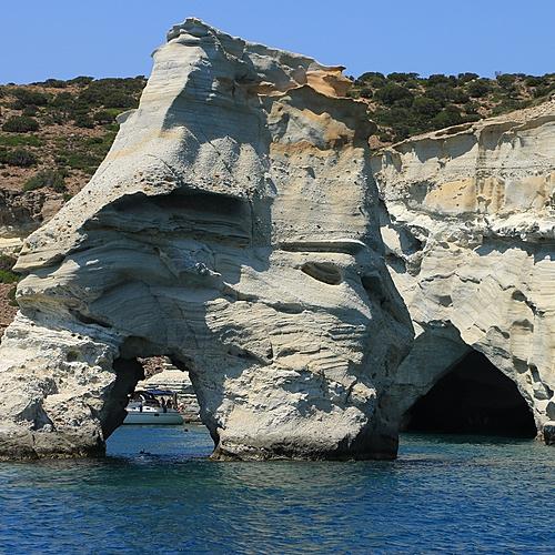 De l'Atlantide à Vénus, combiné Santorin / Milos - Santorin -