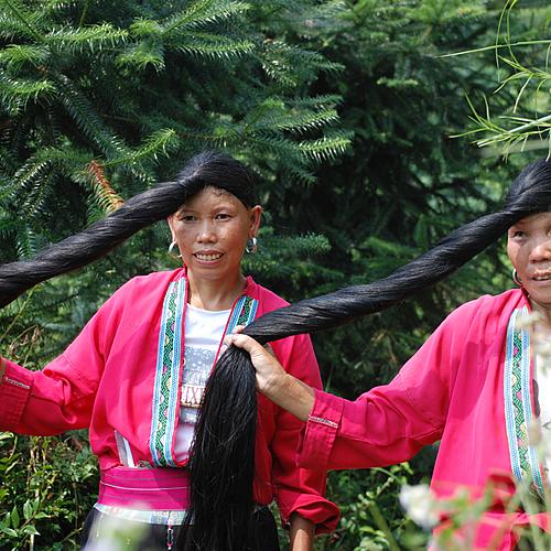 Paysages karstiques et minorités de Longji - Guilin -