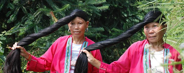 Paysages karstiques et minorités de Longji
