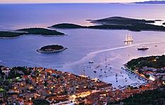 Visages du Sud avec extension optionnelle, les îles Hvar et Mljet