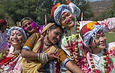 La fête d\'Holi au Rajasthan en petit groupe