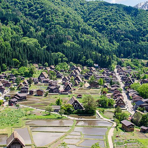 De temple en villages - Tokyo -