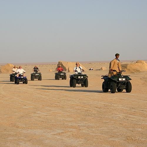 Un taxi pour le désert -