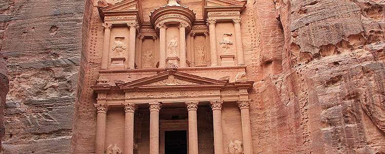 Classiques du pays: Petra,Mer Morte et désert du Wadi Rum