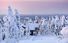 Semaine d\'aventure d\'hiver en Laponie