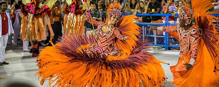 Carnevale Salvador de Bahia e Rio de Janeiro