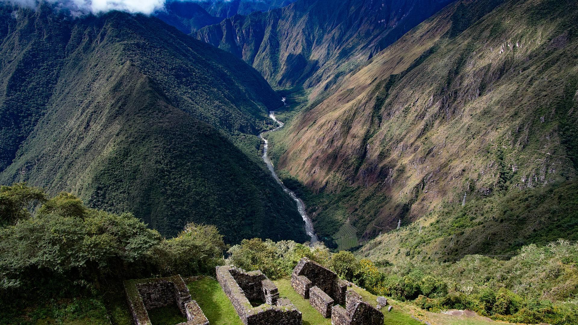 Voyage en train dans les Andes