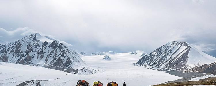 Khuiten Peak Climbing
