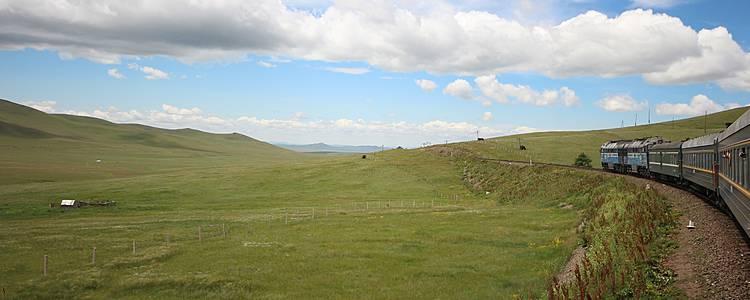 La Mongolie par ses trains
