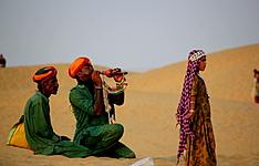 Taj Mahal, Palais, tigres et dunes