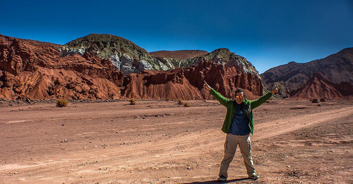 Voyage en véhicule : Le désert d\'Atacama à pieds et à vélo