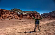 Le désert d\'Atacama à pieds et à vélo