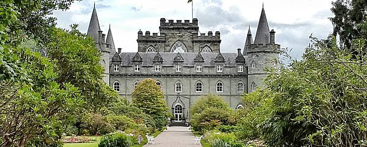 Manoirs et demeures des Highlands