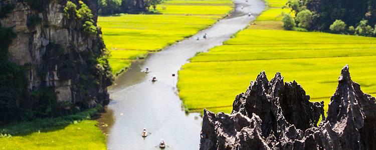 Scoperta del Mekong, Baia di Halong e risaie del nord