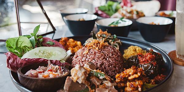 Nasi Campur Indonesie