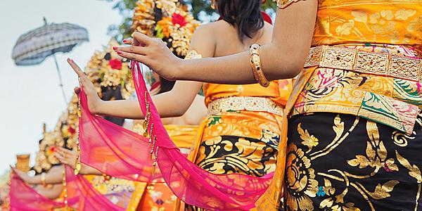 Danse traditionnelle Bali