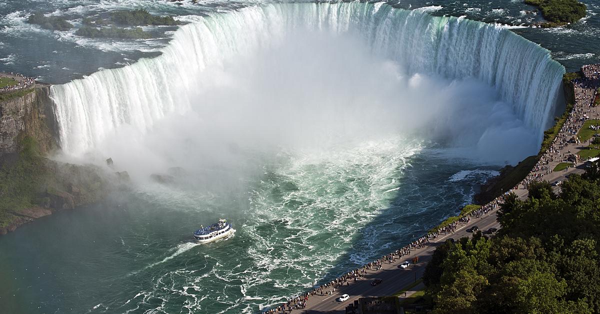 Voyage à pied Canada : Le grand tour de l\'Est canadien des chutes Niagara à la Gaspésie