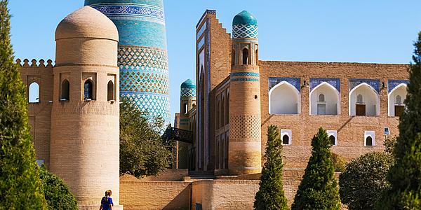 Itchan Kala. Khiva, Ouzbekistan