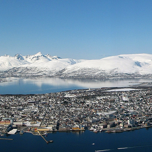 Activités hivernales àTromsø -