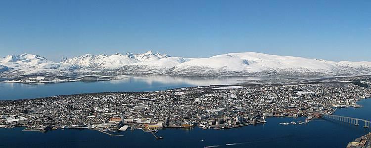 Activités hivernales àTromsø