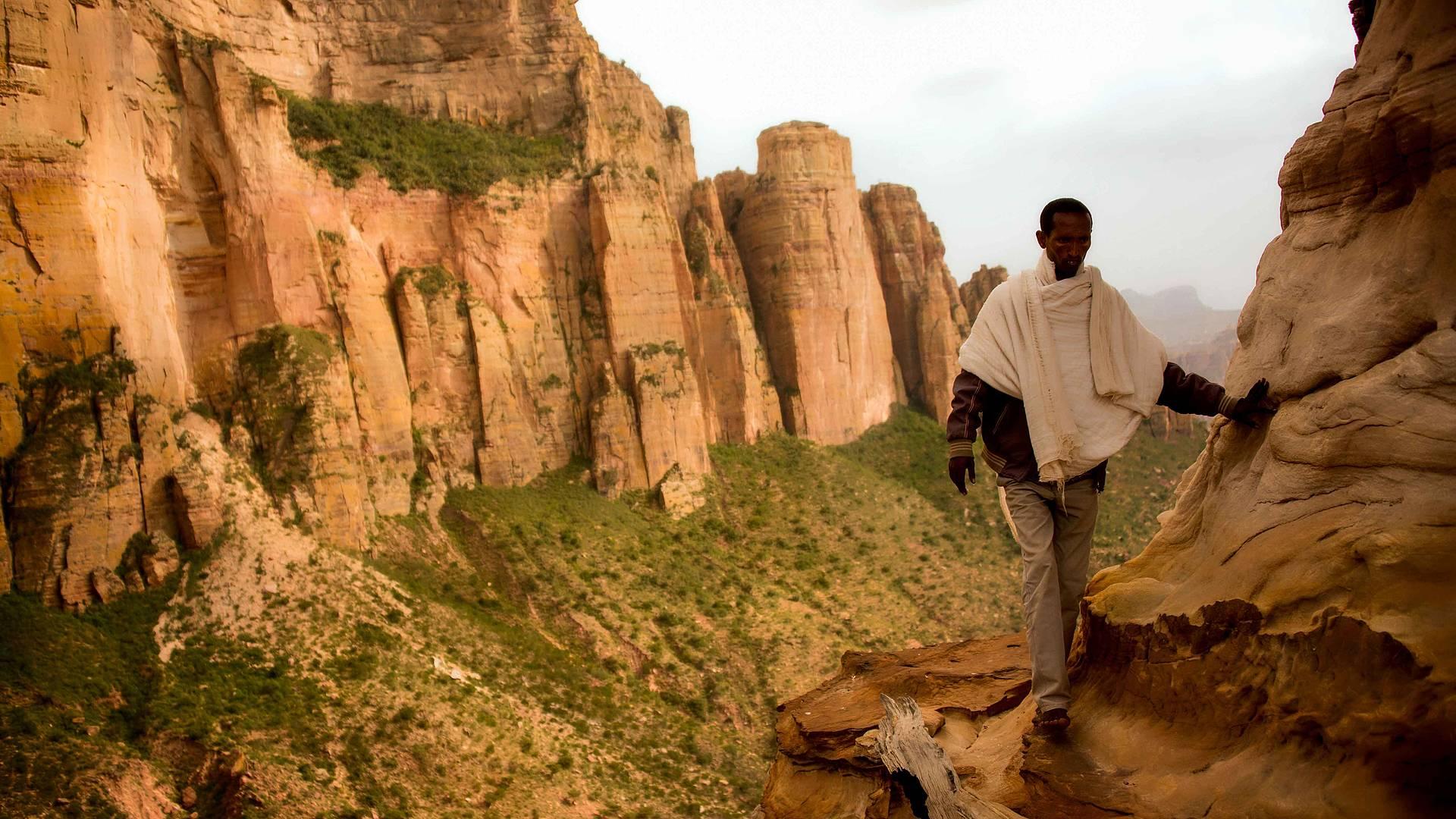 Marches et églises éthiopiennes