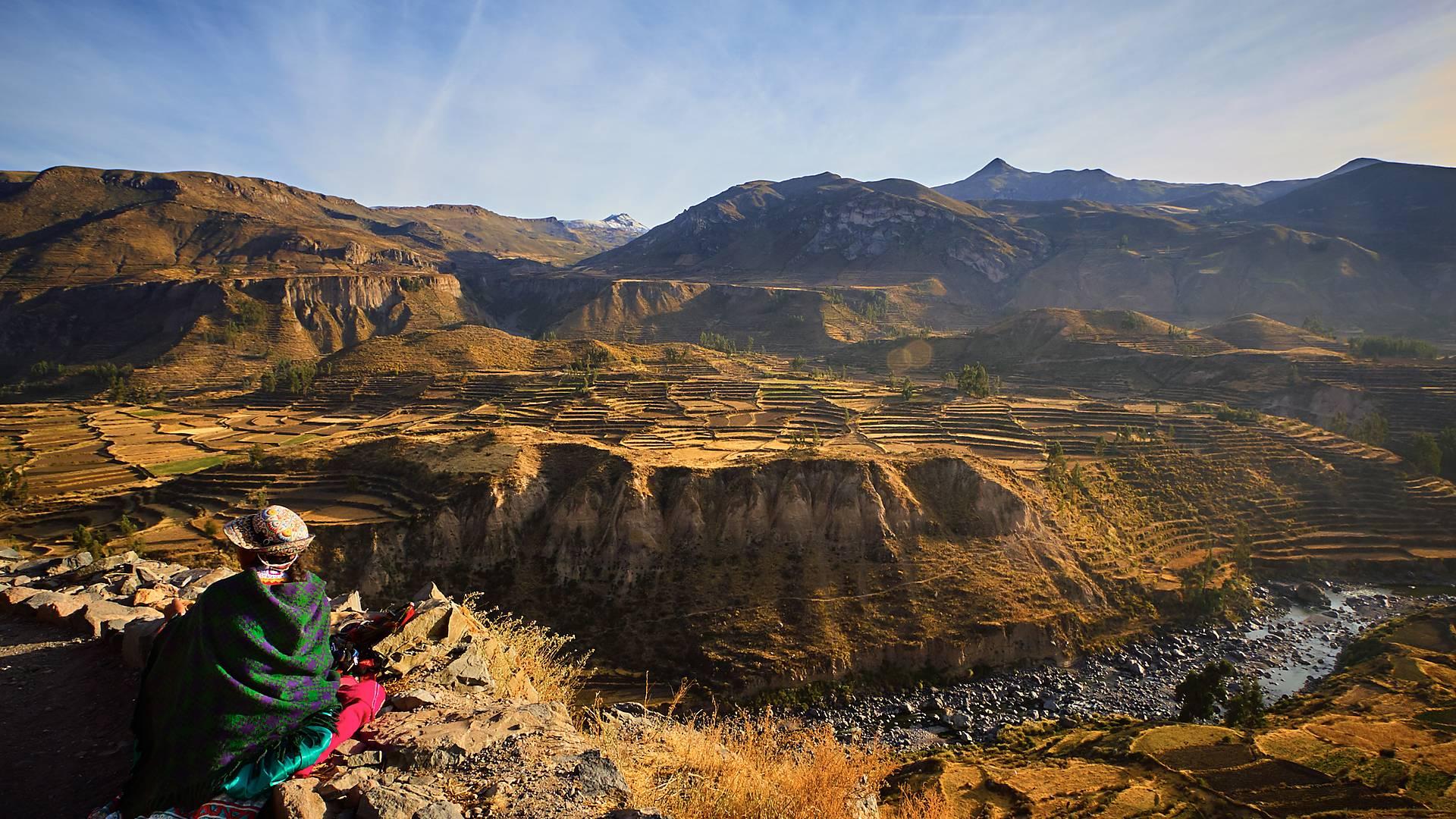Voyage de noces dans les Andes