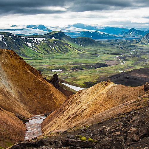 Le trek de Laugavegur en liberté - Reykjavik -