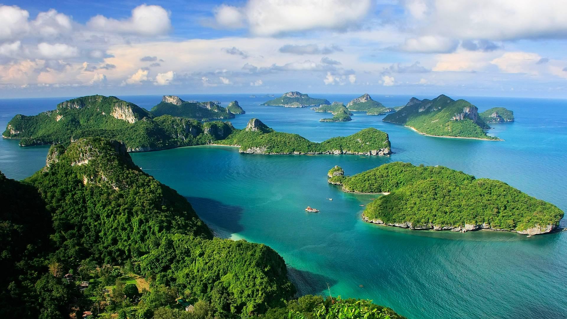 Bangkok e le isole del Golfo