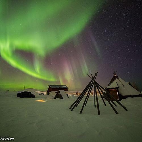 En petit groupe, expérience polaire à Tromso -
