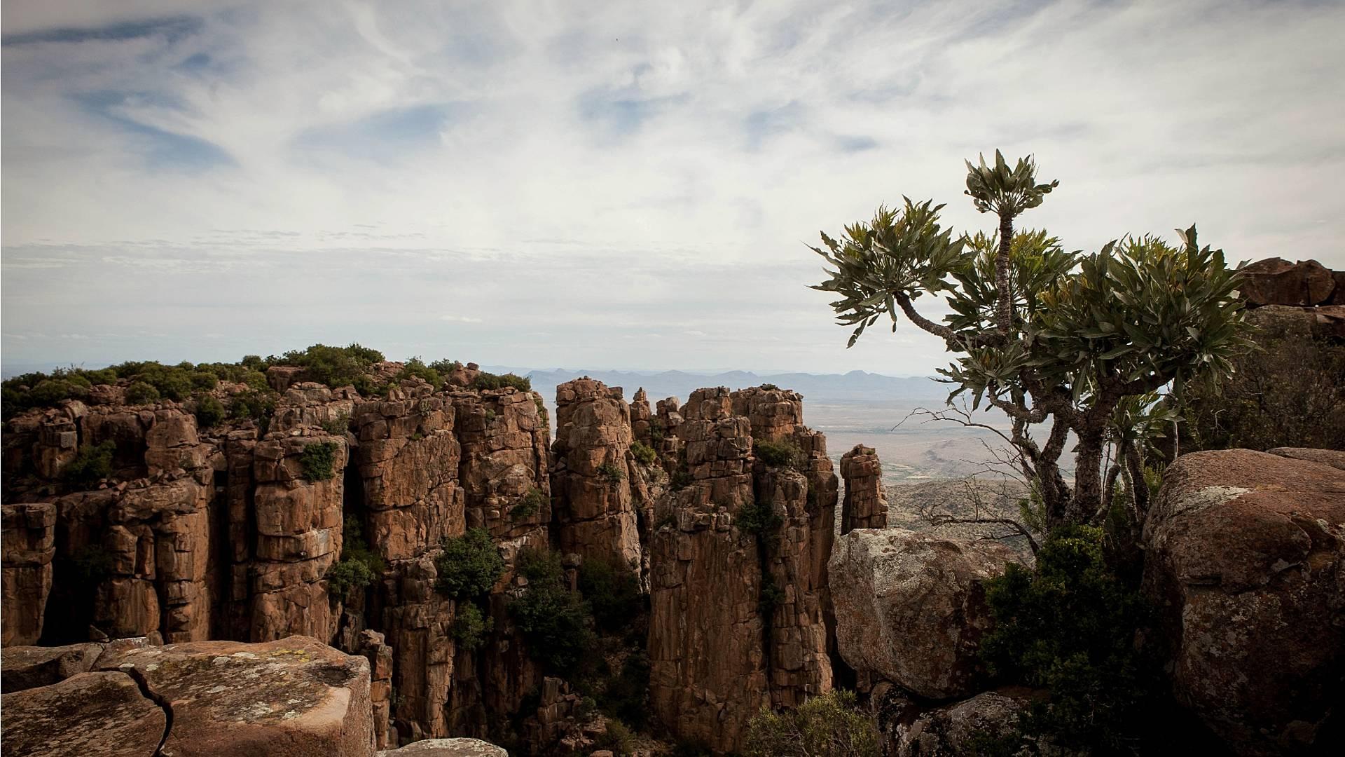 Die weiten, stillen Landschaften des Northern Cape und die Karoo