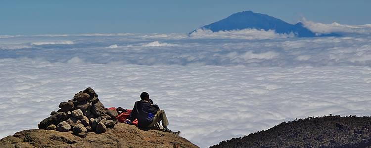 Zum Gipfel des Kilimandscharo