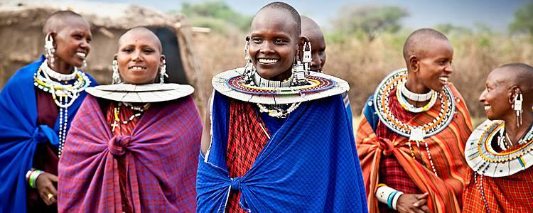 Safari und Traditionen