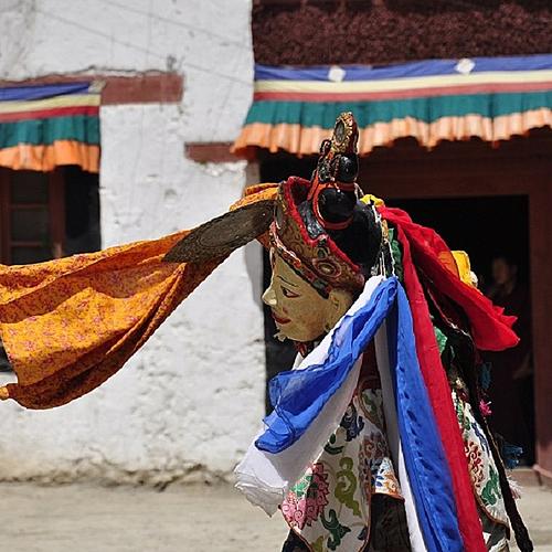 Le Ladakh pendant le festival Phyang -