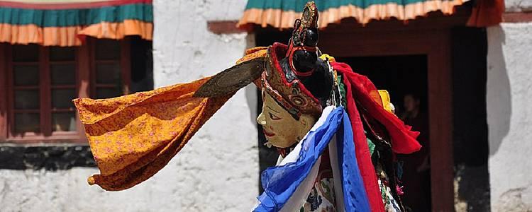 Le Ladakh pendant le festival Phyang