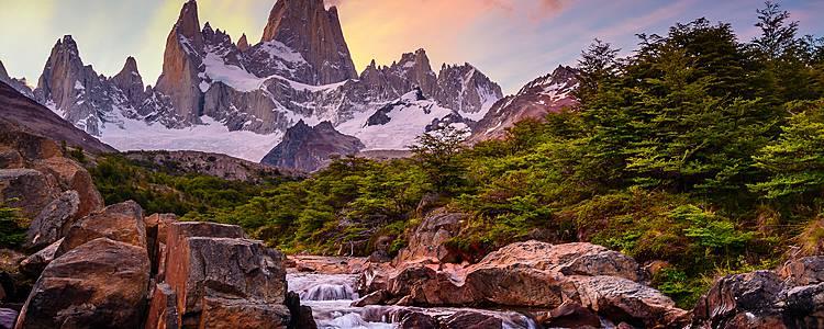 Patagonia argentina con el Chaltén