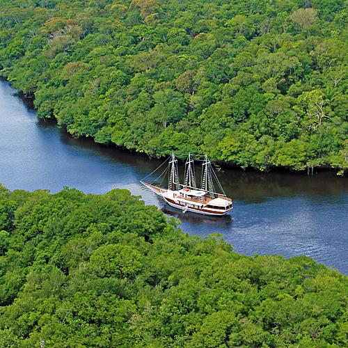 Croisière et Prestige en Amazonie, Rio et Salvador -