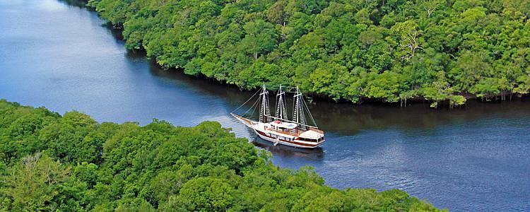 Croisière et Prestige en Amazonie, Rio et Salvador