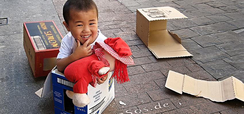 Enfant unique chinois @flickr cc EpSos.de