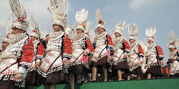 Un festival Miao @flickr cc yuen yan