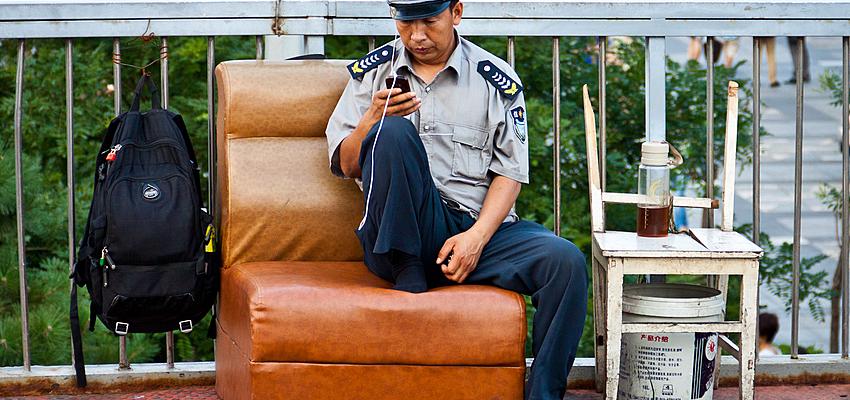 Policía vigilando @flickr cc ahenobarbus