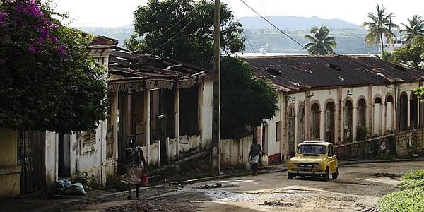 Une rue dans Diego Suarez