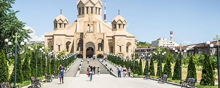 Nei dintorni di Yerevan